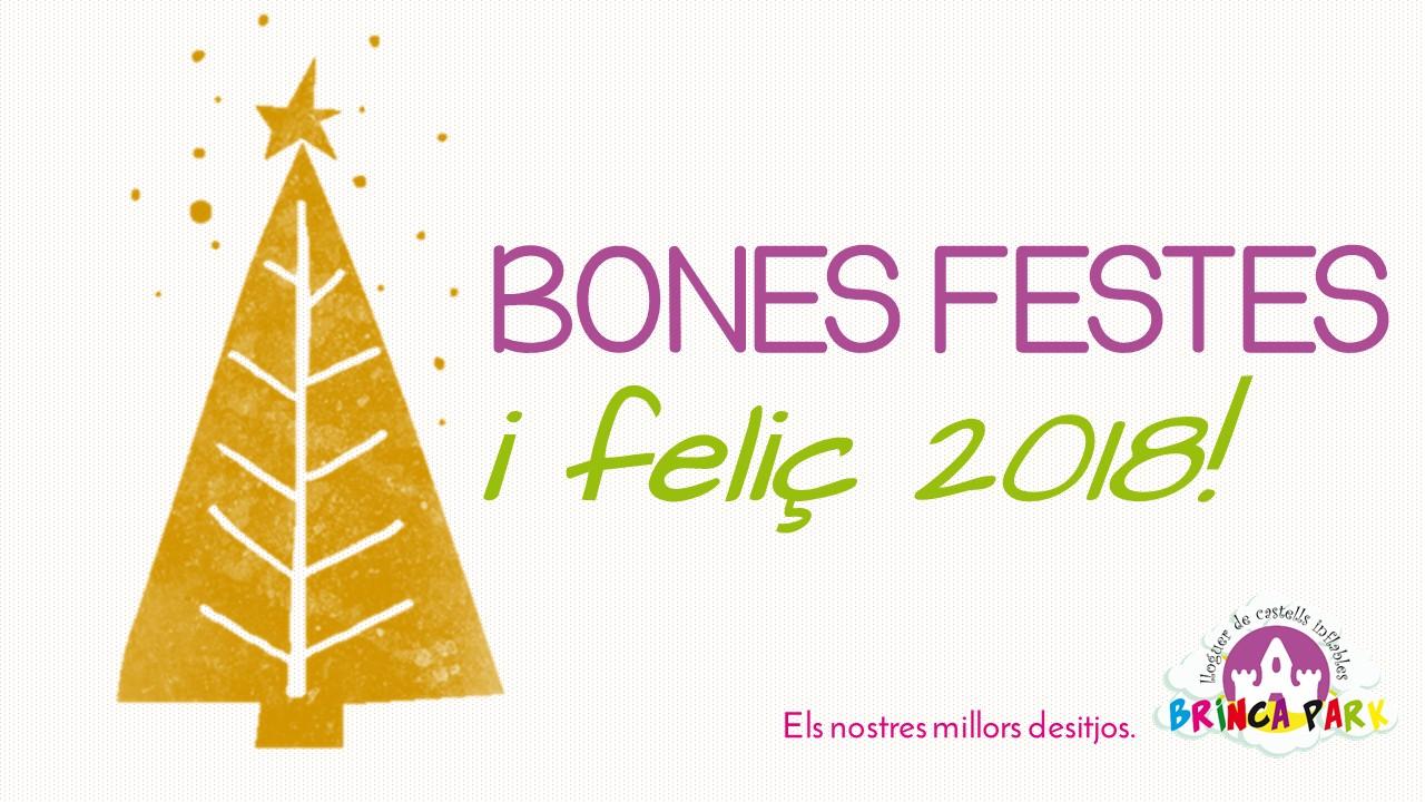 BONES FESTES I FELIÇ 2018!